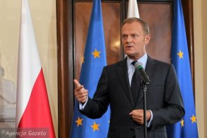 Tusk Called For Solidarity But Was Booed