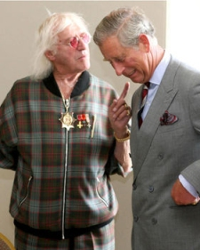 Savile - Friend to Royalty?